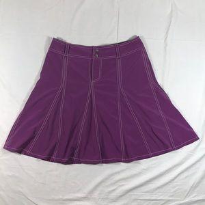 Athleta Whatever skort/skirt, berry size 6